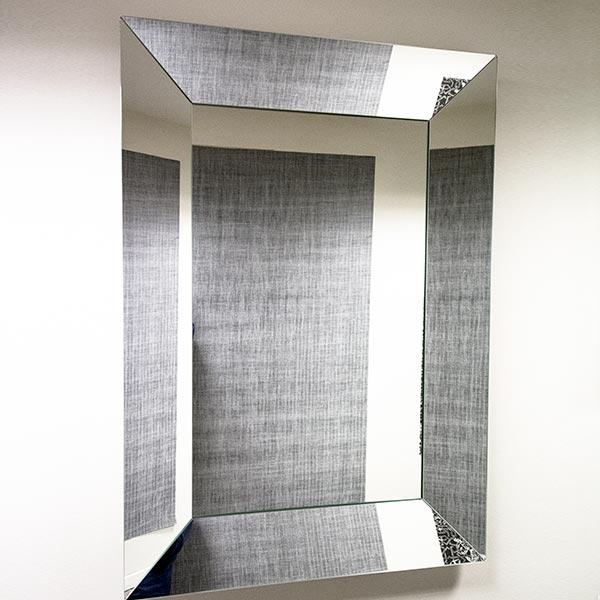 angebote baustudio 01 riflessi spiegel specchio trapezio 84