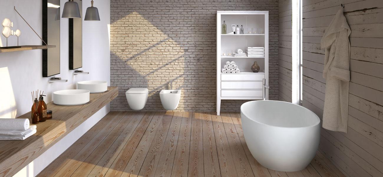 TRASFORMIAMO LE VOSTRE IDEE di design abitativo in realtà. Arredi, stanze, mobili, bagni, sanitari, piastrelle da Baustudio Bolzano