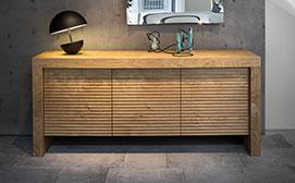 Möbel in Bozen, Südtirol für Ihre Wohnung und Einrichtung, Wohnzimmer. Kleinmöbel, Tische, Kommoden und Konsolen bei Baustudio.